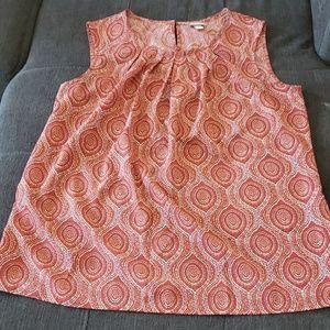 EUC Merona Women's sleeveless blouse Sz XXL